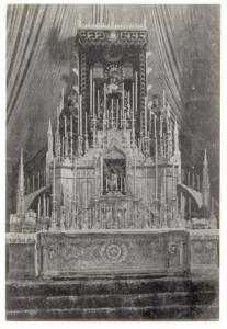 Septenario Virgen del Valle en el año 1930