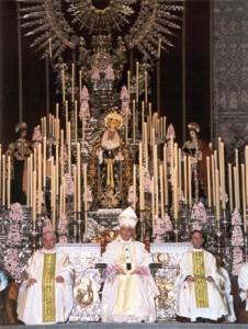 Coronación de la Virgen del Valle en 2002