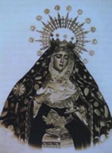 Virgen del Valle anterior a 1909