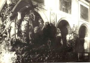 Paso de Nuestro Señor Jesucristo con la Cruz al Hombro a principios del siglo XX, después de la reforma de 1909