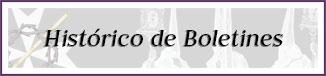 Boletín de Coronación