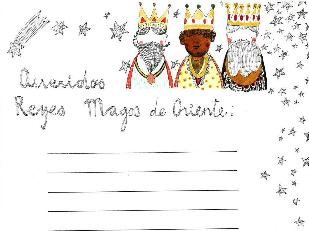 Carta Reyes Magos 2 Carta De Reyes Magos Cooperamos Con