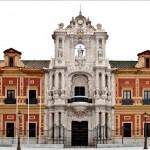 fachada del palacio de san telmo
