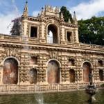 Estanque-de-Mercurio-y-Galería-del-Grutesco-en-el-Real-Alcázar-de-Sevilla